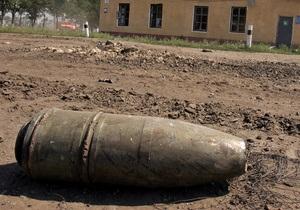 В Борисполе обнаружили 353 артиллерийских снаряда времен ВОВ