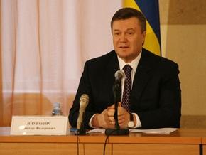 Янукович не отказывается от придания русскому языку статуса государственного