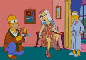 Lady GaGa стала героиней Симпсонов