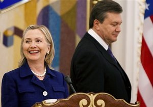 Хиллари Клинтон и Кэтрин Эштон обеспокоены предвыборной ситуацией в Украине