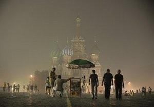 Из-за жары и смога в Москве резко вырос уровень смертности
