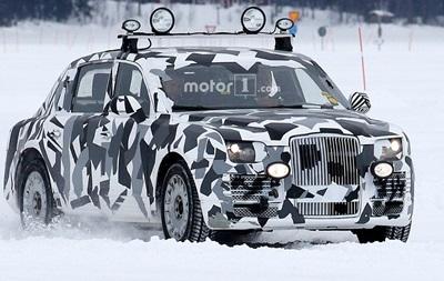 В сети появились фото испытаний  лимузина Путина