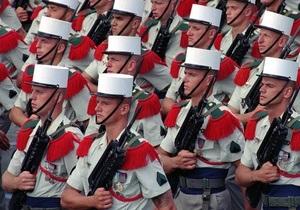 В центре Парижа застрелился военнослужащий Иностранного легиона