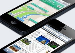 За первые выходные продаж iPhone 5 Apple продала их в количестве пяти миллионов штук