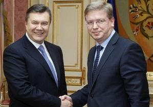 Киеву напомнили, что предстоит еще многое сделать для ассоциации с ЕС
