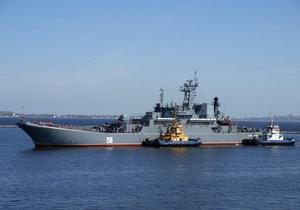 Российские десантные корабли прибыли в Одессу, Николаев и Керчь
