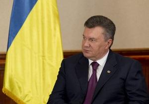 Янукович уволил Попова с должности первого заместителя председателя Нацгосслужбы