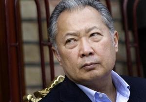 Бакиев призвал мировых лидеров не признавать новые власти Кыргызстана