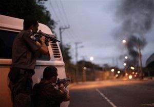 Рио-де-Жанейро захлестнула волна насилия: власти города обратились за помощью к армии и флоту