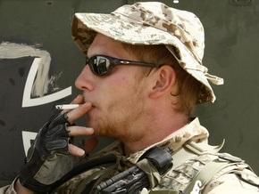 Американским солдатам разрешат курить в зоне военных действий