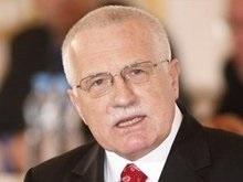 Президентом Чехии вновь избран Клаус