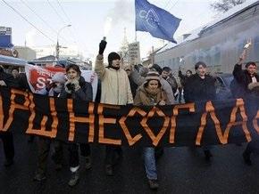 МВД РФ: На выходных в митингах приняли участие 120 тыс. россиян