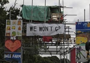 В Британии выселят самый большой нелегальный цыганский табор