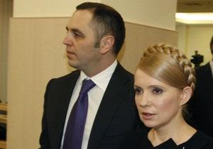 Реакция БЮТ на уход Портнова: В команде Тимошенко не будет крыс, которые бегут с корабля