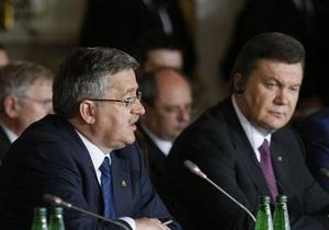 Следующий саммит стран Центральной Европы пройдет в Киеве