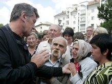 Ющенко считает, что выделенных средств достаточно для ликвидации последствий стихии