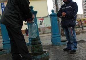 В Киеве реконструируют старые бюветы и откроют новые