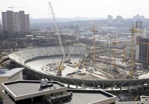 В Киеве отремонтируют дороги вокруг НСК Олимпийский