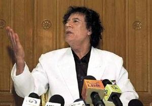 Каддафи написал письмо Обаме