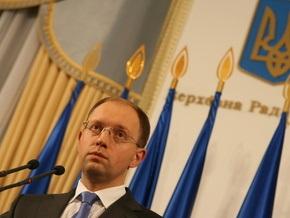 Опрос: Яценюк занял третье место в президентском рейтинге