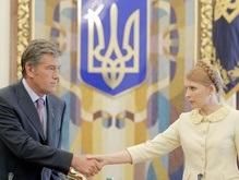 Тимошенко заявила, что Ющенко развалил коалицию