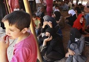 Около двух тысяч сирийских беженцев прибыли в Турцию