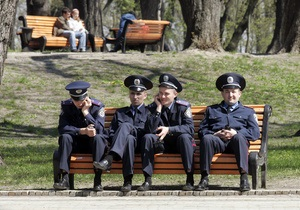 Украинской милиции увеличили зарплату
