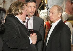 В налоговой службе РФ рассказали, как будут взиматься налоги с Депардье