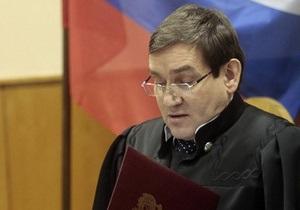 Ходорковский потребовал возбудить уголовное дело против председателя Хамовнического суда