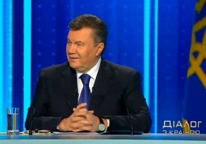 Диалог Януковича со страной продолжался около четырех часов