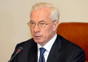 Азаров: С начала года доходы ПФ выросли на 3 млрд гривен