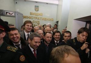 ВАСУ остановил решение ЦИК по установлению победителя выборов