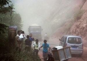 Новости Китая- землетрясение в Китае - Число жертв землетрясения в Китае достигло 124 человек - провинция Сычуань
