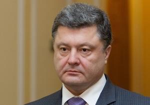 Порошенко назвал  безумием  законопроект об уголовной ответственности за клевету