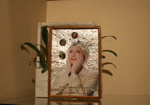 Фотогалерея: 40 дней, 40 работ. В Киеве прошла выставка памяти Мамышева-Монро