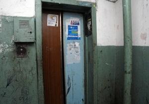 В Киеве у 38% лифтов вышел срок эксплуатации