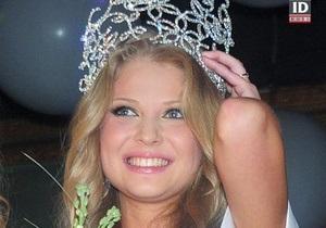 Титул Мисс Киев-2009 достался блондинке