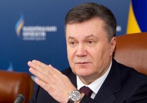 Янукович поручил СНБО и главе Минобороны подготовить доклад об оборонном комплексе