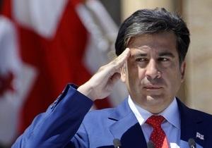 Саакашвили не захотел говорить о своих планах на 2013 год, когда вступит в силу новая конституция