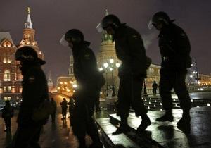 Московская полиция заявляет, что будет пресекать любые провокации во время выборов