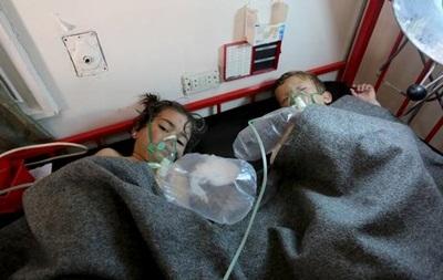 Число жертв газовой атаки в Сирии выросло почти в два раза