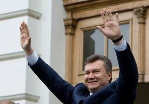 Янукович считает, что акции протеста во Львове проводит  заказная кучка людей