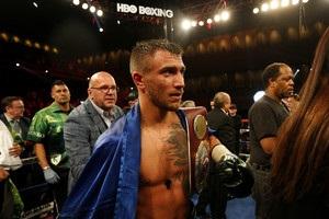 Ломаченко: Поздравляю всех украинских болельщиков бокса