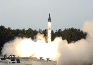 В Индии провалились испытания баллистической ракеты, способной нести ядерный заряд