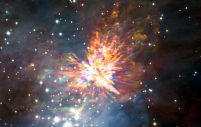 Учені сфотографували вибух після зіткнення молодих зірок