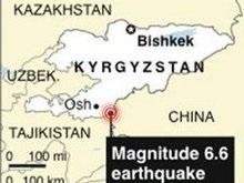 Украинцев среди жертв землетрясения в Кыргызстане нет