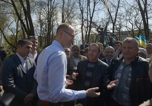 Яценюк - оппозиция - новости Николаева - Яценюк: Оппозиция обязана выдвинуть единого кандидата на выборах в Николаеве