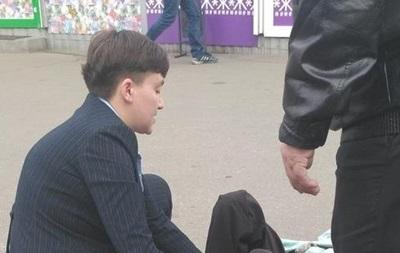 У Києві автомобіль Савченко збив жінку
