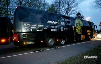 У Німеччині заарештували підозрюваного в підриві автобуса Боруссії