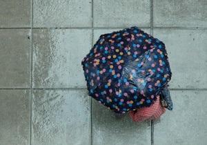 Прогноз погоды: в Украине пройдут дожди с градом